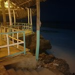 accesso dalla spiaggia
