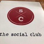 The Social Club menu