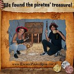 They found the pirates' treasure!