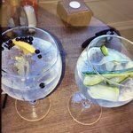 Lovely gin menu