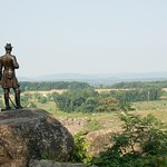 View from Little Round Top toward site of Pickett's Charge.