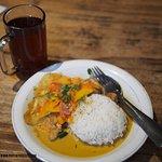 Curry & sweet tea <3