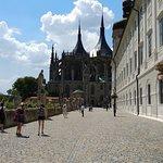 walk towards church