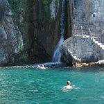 Drinking water waterfall
