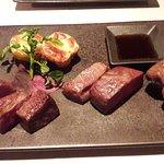 Kobe steak platter