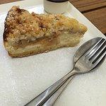Oma Jacks Apfel-Streusel Cheesecake inkl. 1 Kugel Honig Sauerrahm Eis