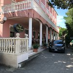 San Mauro a Mare. Veranda to enjoy a drink and a conversation. COLOMBO G. English speaking drive