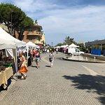 San Mauro a Mare. Un dimanche calme en juillet. COLOMBO GROUP Location de voiture avec chauffeur