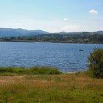Bala lake from the train