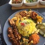 Bumbu Bali Nasi Kuning menu