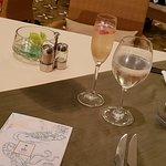 Dinner at the Carribean Restaurant