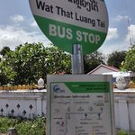 The nearest bus stop from hotel
