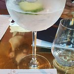 wide selection of drinks and gins