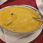 Pollo korma, delicioso y sabroso sabor a leche de coco :)