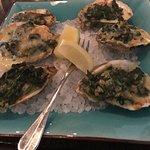 Crab cake and iceberg salad😍