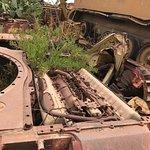 Tank Graveyard Foto