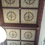 the ceiling in the Archbishop's Palace
