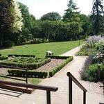 the Minster gardens
