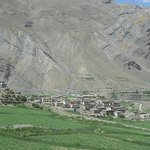 Picturesque views of villages at Pin Valley