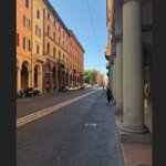 Bologna. Via Indipendenza is main street of the city.  COLOMBO GROUP English speaking driver.