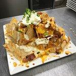 A huge order of nachos!