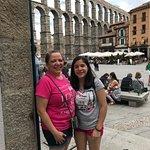 The Aqueduct in Segovia.