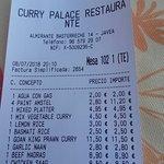 Foto van Curry Palace