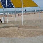 Beach close by