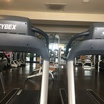 Exercise room across from the Spa