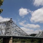 Blue Wonder Bridge照片