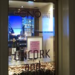 ENO in Westin St Francis Hotel - Window Sign in Hotel Lobby