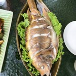 Steamed fish for lunch