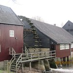 """The historic """"Old Waterwheel"""", reportedly featured in one or more of Van Gogh's paintings."""