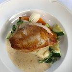 Main chicken with mash potatoes