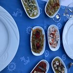 ''Special// Meal, Startes already on the table before we arrived left UNCOVERED!