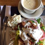 Beef House, soup, salad bar