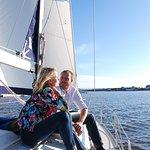 Sailing on Pärnu bay
