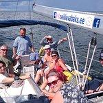 Fun sailing in Pärnu