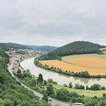 Castle view near Neckarsteinach