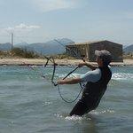kitesurfen mallorca in Juli beste deutsche kiteschule mit Martin