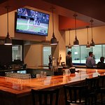 Our heated Bar has a great view of the ice and offers a selection of beer, wine, and great food.