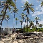 we visited a deserted island