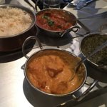 @Indian restaurant