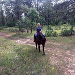 horseback riding in nature is the best