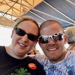 Myself and my Husband on boat