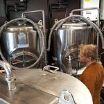 The small group guided tour of their on-site micro brewery is interesting & included in the cost