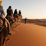 Merzouga is a small town situated in eastern Morocco