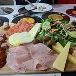 The Wicked platter is a great selection of goodies perfect for a shared lunch