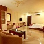 superior suite bed room