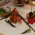 prawn with sweet and spicy sauce